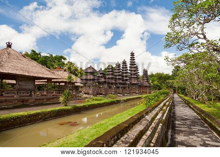 Taman Ayun Temple.Royal temple of Mengwi Empire located in Mengwi, Badung regency. Bali, Indonesia.