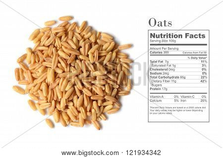 Whole Oat Seeds