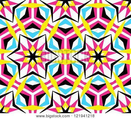 Kaleidoscope Star Pattern