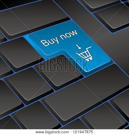 vector keyboard. key buy now