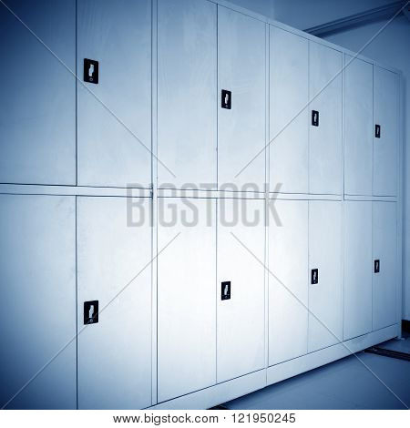 Office documents, files, files safe, blue tone picture