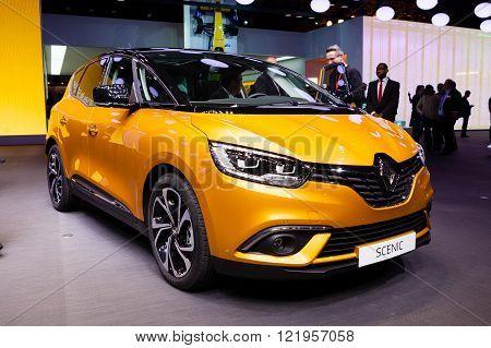 Renault Scenic in Geneva