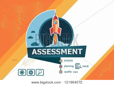 Project Assessment Concepts For Web Banner And Printed Materials.
