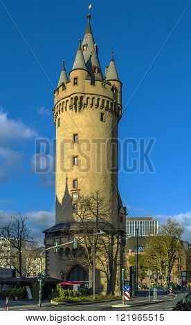 Eschenheimer Turm was a city gate part of the late-medieval fortifications of Frankfurt am Main and is a landmark of the city Germany