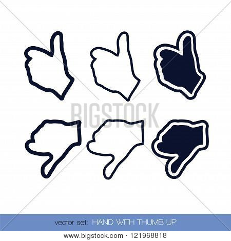 Hand with thumb up3