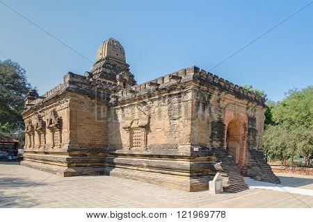 Stupas and pagodas of Bagan. Nan Paya. Myanmar