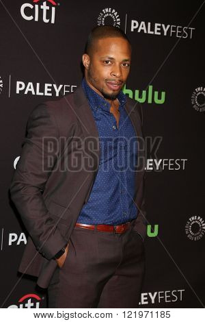 LOS ANGELES - MAR 15:  Cornelius Smith Jr at the PaleyFest Los Angeles - Scandal at the Dolby Theater on March 15, 2016 in Los Angeles, CA