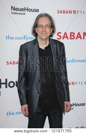 LOS ANGELES - MAR 15:  Bob Nelson at the The Confirmation Premeire at the NeueHaus on March 15, 2016 in Los Angeles, CA
