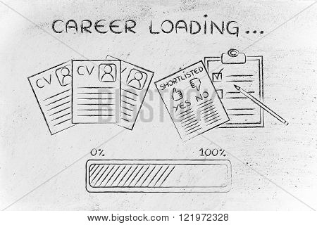 Career Loading: Cv And Shortlist Of Candidates
