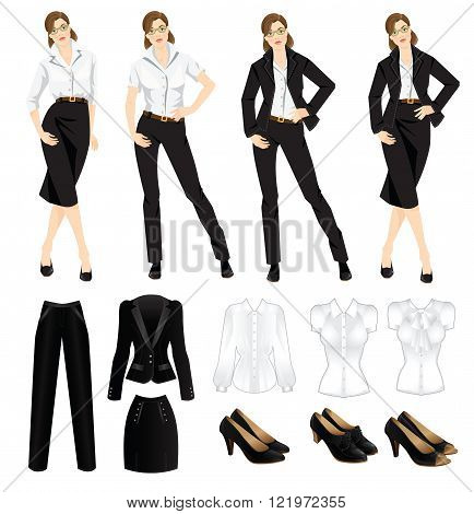 Elegant Business Women Dress Code