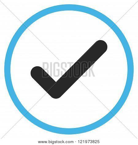 Ok Flat Vector Icon