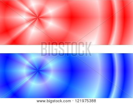 red blue background suitable as banners as appropriate container or label