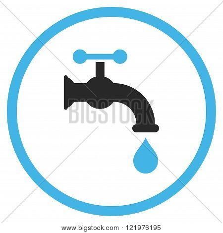 Water Tap Flat Vector Icon