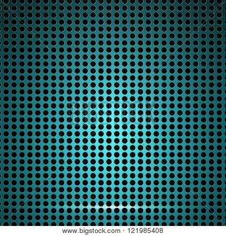 Cell metal background. Grill texture. Vector illustration