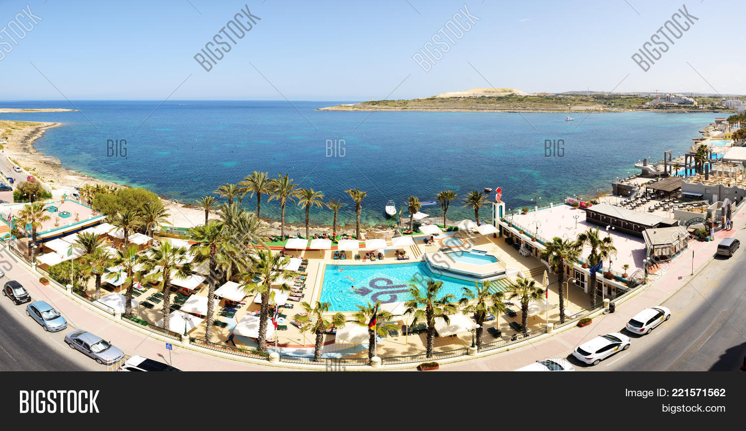BUGIBBA MALTA APRIL Tourists Image Photo Bigstock - Malta vacation