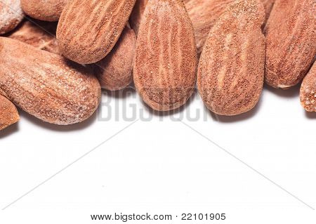 Almonds With Copyspace