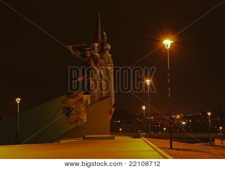 Monument Liberators Of Donbass