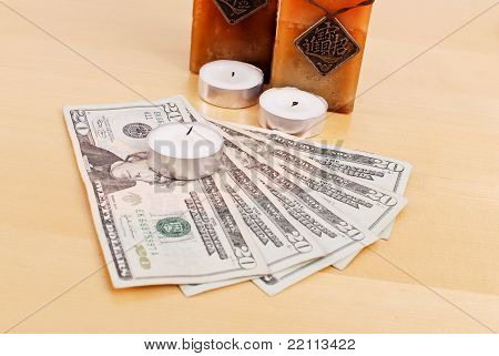 Saving Money By Using Candles