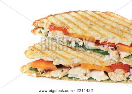 Chicken And Veggie Sandwich