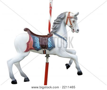 Merry-Go-Round Horse Stock Photo & Stock Images | Bigstock