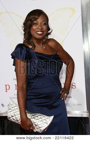LOS ANGELES - 1 de novembro: Star Jones na seleção de ' Precious: baseado no romance 'PUSH' By Sapphire