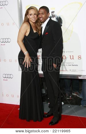 LOS ANGELES - NOV 1: Mariah Carey and Nick Cannon at the screening of 'Precious: Based On The Novel 'PUSH' By Sapphire' during AFI FEST 2009 in Los Angeles, California on November 1, 2009