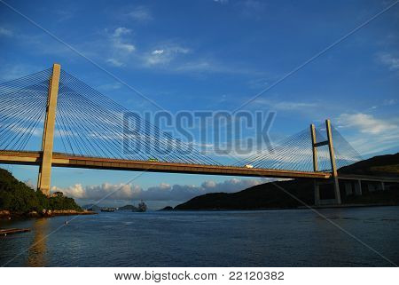Bridge in Hong Kong