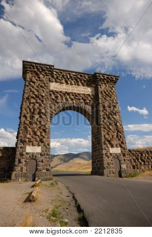 North Entrance Of Yellowstone Np