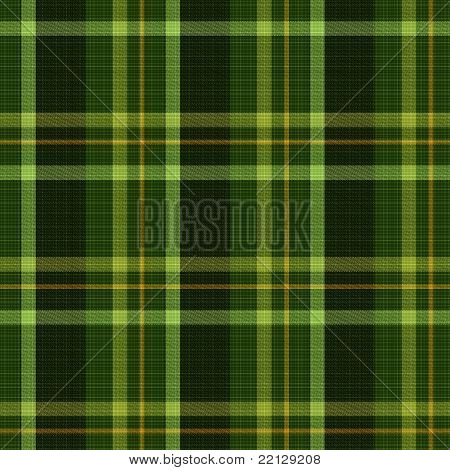 Seamless tiling plaid texture