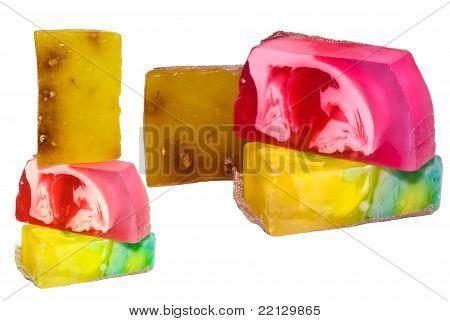 Handmade Soap Set, Isolated