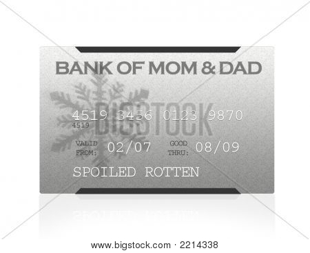 Credit Card - The Bank Of Mom & Dad