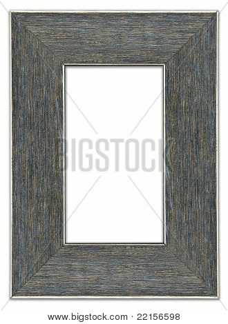 Blank modern picture frame