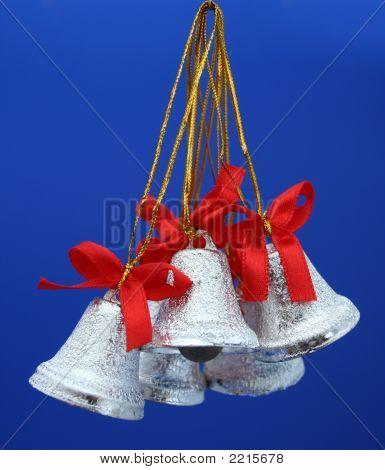 Christmas Celebratory Handbells Of Silvery Color 2
