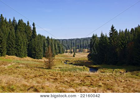 Hiking in the Erzgebirge, Germany-3
