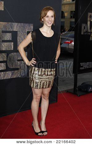 LOS ANGELES, CA - JUL 28: Mattie Hawkinson at the Premiere of 'Rise of the Planet of the Apes' at Grauman's Chinese Theatre on July 28, 2011 in Los Angeles, California