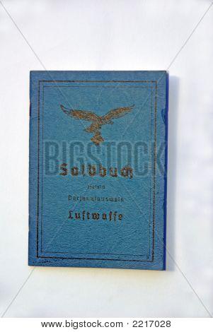 Ww2 Luftwaffe Pay Book