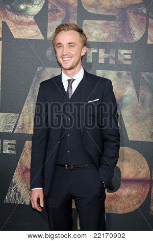 LOS ANGELES - JUL 28:  Tom Felton arriving at the