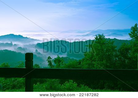 Blue Ridge Smokey Mountains
