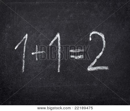 Chalkboard Math Classroom School Education