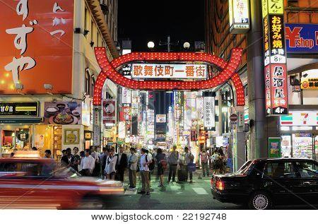 Kabuki-cho in Tokyo, Japan