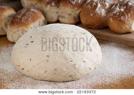Cumin Bread Dough