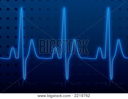 Resplandor del latido del corazón