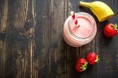 Strawberry And Banana Smoothie poster
