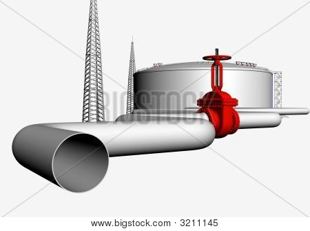 Oil And Gas Concept