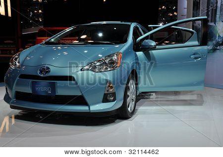 Toyota Prius C Car
