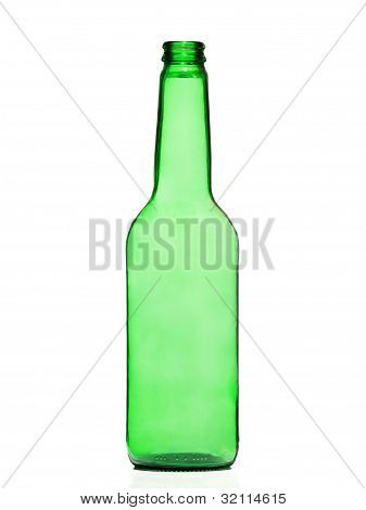 Green And Glass Bottle