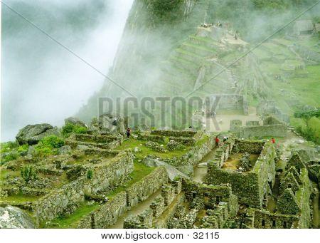 Mist Over Machu Picchu