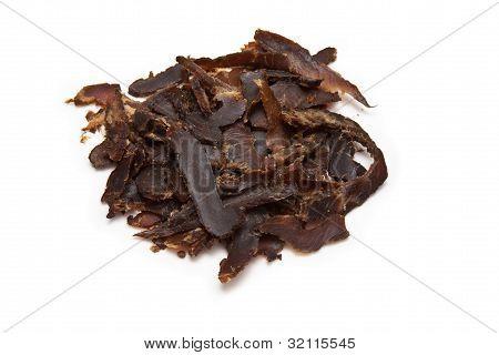 Sliced beef biltong (beef Jerky)