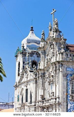 Carmo Church (Igreja do Carmo), Porto, Douro Province, Portugal