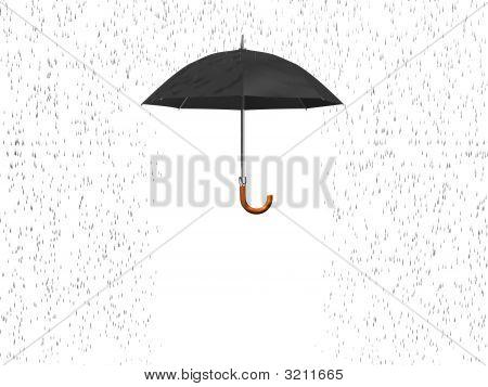 Umbrella And Rain 3